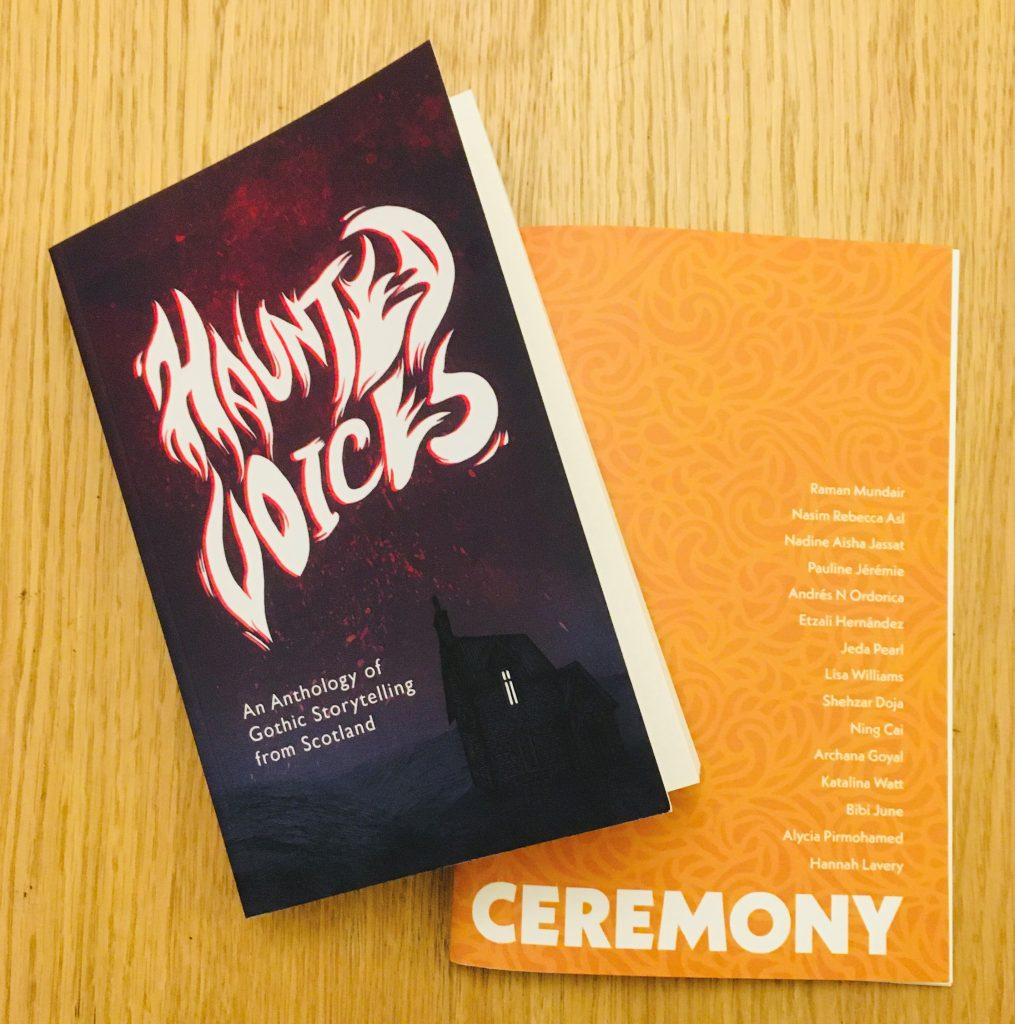 Haunted Voices and Ceremony print copies