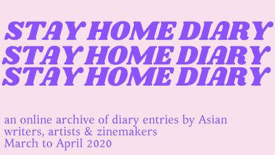Logo for Stay Home Diary by Bitter Melon
